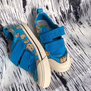 Toms Cookie Monster Sesame Street shoes 12.5